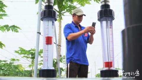 太陽公公來節水 農民靠「光積程式」精準灌溉 省下75%用水