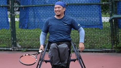 黃光昇 突破自身限制的輪椅運動員