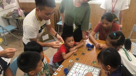 「方向:D」前進部落 陪伴孩童激發潛能