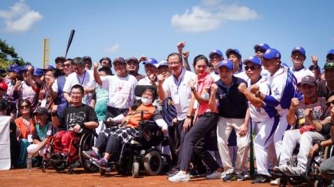 出口盃多元族群棒球賽 打造平等夢想舞台
