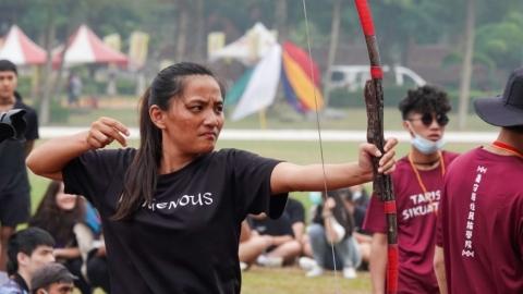 南原盃深入部落 傳承原住民傳統競技