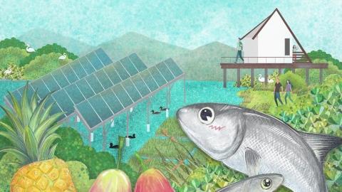 【生物多樣性的美好日常】濕地上的食農教育