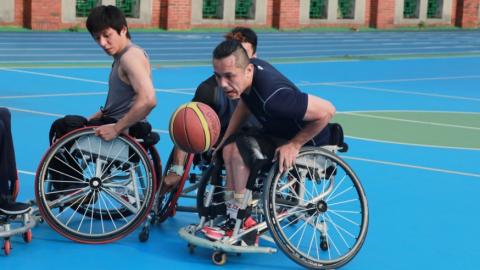 輪椅籃球 跨越身障者人生侷限