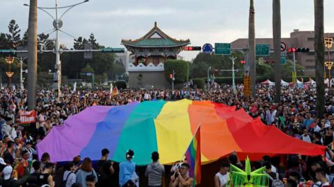 跨文化群體間的性別政治溝通+酷兒臺灣的跨境地緣政治困境