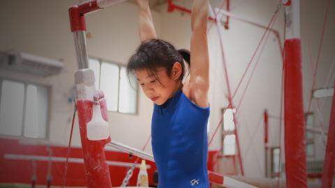 前國手林祥威 回母校打造金牌體操