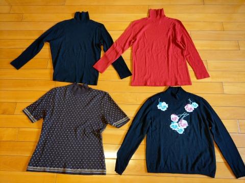 女仕毛衣【義大利製x3件】【日本製x1件】《免運》