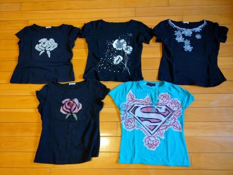 女仕T恤 【日本製x4件】【美國製x1件】《含運》