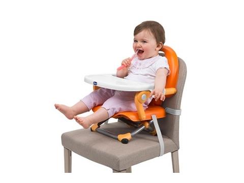 Chicco POCKET 攜帶式輕巧餐椅 (紅色)